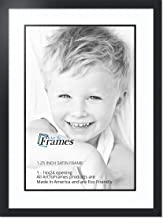 ArtToFrames Collage Photo Frame Double Mat with 1 - 16x24 Openings and Satin Black Frame