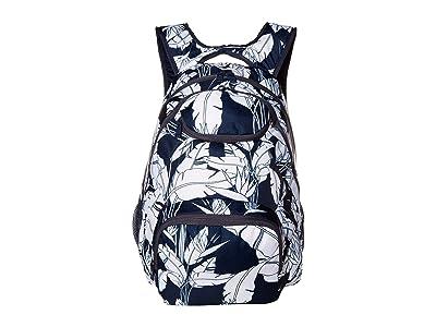 Roxy Shadow Swell Backpack (Mood Indigo Flying Flowers S) Backpack Bags