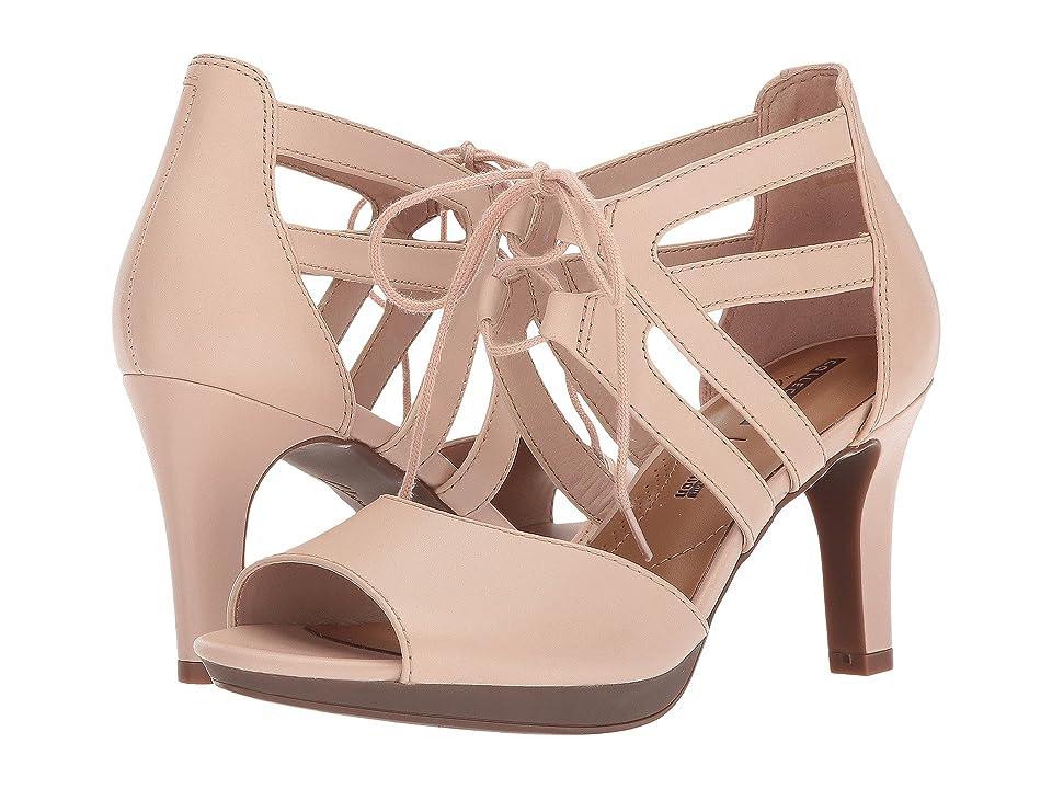 Clarks Adriel Elaina (Cream Leather) High Heels