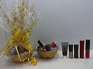 No.7 - Juego de maquillaje en cesta de regalo, 6 piezas