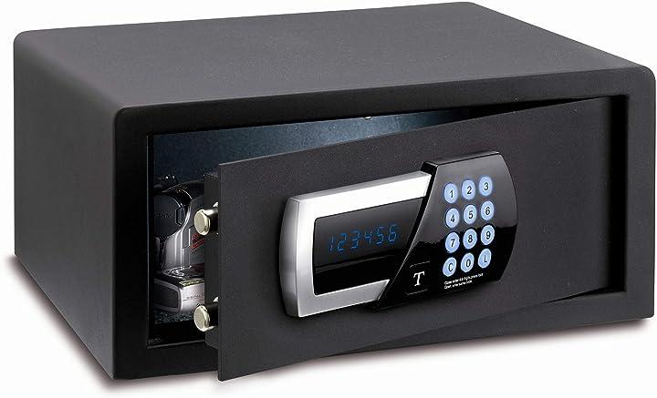 Cassaforte a mobile hotel digitale display e pass techomax TSW/4HN