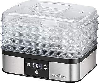 PROFI COOK PC-DR1116 - Déshydrateur automatique - En Acier inoxydable - réglage de la température électronique - Avec écra...