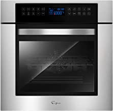 Empava 24 in. Electric Single Wall Oven Convection with 10 Cooking Functions Deluxe 360° ROTISSERIE Model 2020