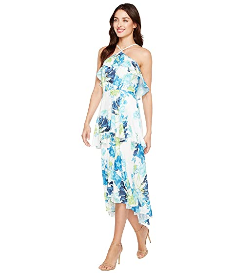 Ruffle Maxi Whisper Tiered CeCe Blooms Dress qwZdI1tqxU