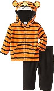 Kids Headquarters Baby-Boys Newborn Stripes Hoody with Pants