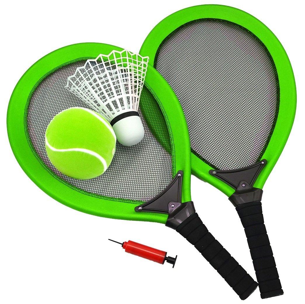 Best Jumbo – Set Verde Playa para Tenis o Pluma Pelota de Tenis ...