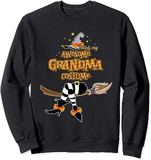 This Is My Awesome Grandma Costume - Halloween Sweatshirt