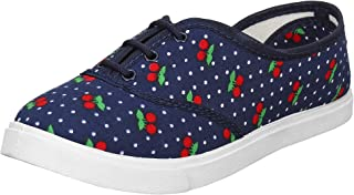 2ROW Women's Dotted Blue Sneakers