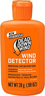Dead Down Wind Hunting Wind Detector | Odorless Wind Direction Indicator, Longer Range Visibility, Detects Subtle Breezes,...