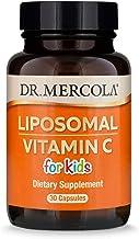 Dr. Mercola, Liposomal Vitamin C for Kids Capsules, 125 mg, 30 Servings ( 30 Capsules), Non GMO, Soy Free, Gluten Free