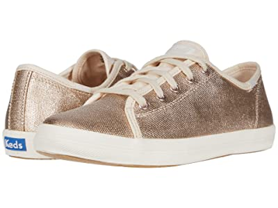 Keds Kids Kickstart Core (Little Kid/Big Kid) (Rose Gold) Girls Shoes