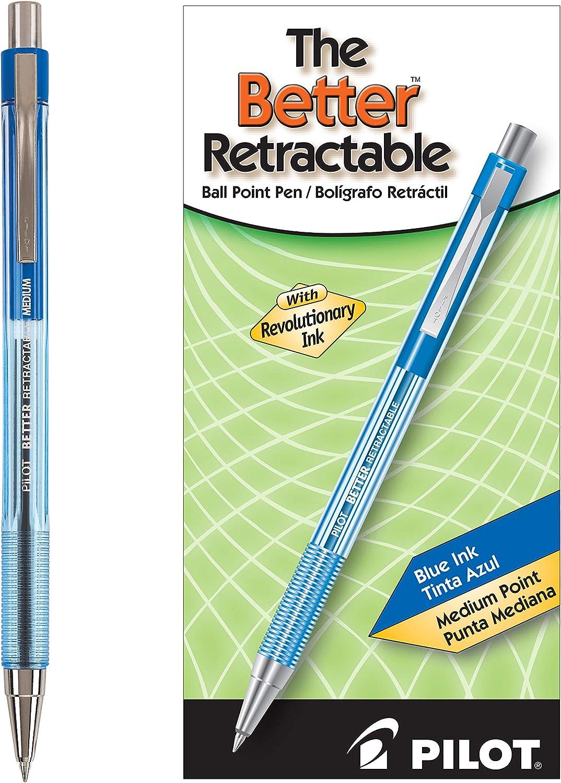 PILOT The Ranking TOP20 Better Ball Point Retractable Ranking TOP11 Refillable Ballpoi Pen