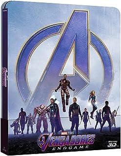 Vengadores: Endgame - Steelbook [Blu-ray, 3D] [Blu-ray]