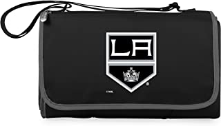 PICNIC TIME Unisex NHL Los Angeles Kings Outdoor Picnic Blanket Tote 820-00-175-144-10, Black