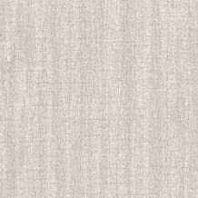 ورق حائط عصري فضي لامع من التيتانيوم للجدران - لفة مزدوجة - أغطية جدارية روماسا