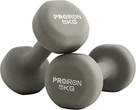 PROIRON Neopreen Halter Haltergewichten Huis Sportschool voor Vrouwen Kindertraining Oefening Handgewichten Halters in 1 k...