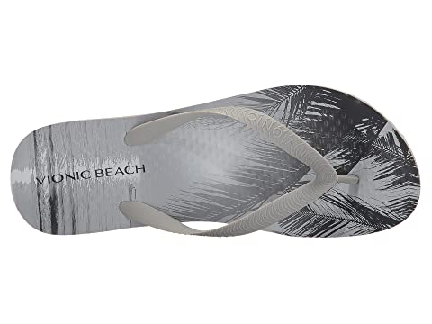 Negro Descuentos Manly Playa Atardecer Vionic Blackpalm Gris rxqawtEcqF