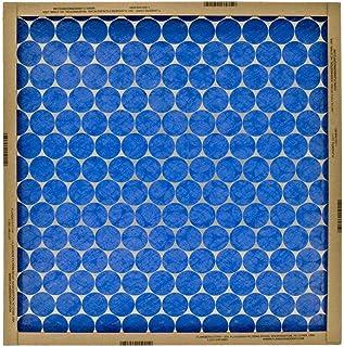 "Flanders 10155.012025 Flat Panel EZ Flow Standard Grade Furnace Filter 12/Pack, 25"" x 20"" x 1"" - Lot of 12"
