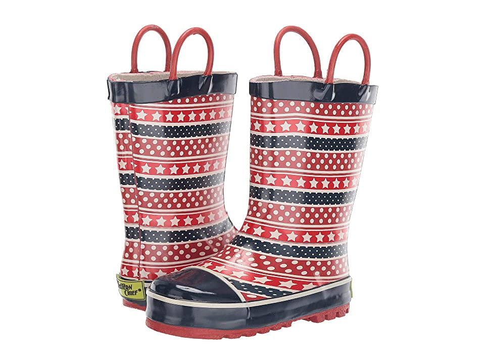 Western Chief Kids Dotty Rain Boot (Toddler/Little Kid) (Red) Girls Shoes
