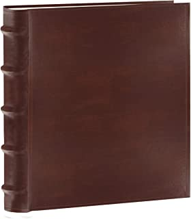 Pioneer Photo Albums CLB-257/BN 200-Pocket European Bonded Leather Photo Album for 5 by 7-Inch Prints, Brown