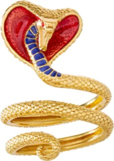 Disney Aladdin Gold Over Sterling Silver Jafar's Snake...