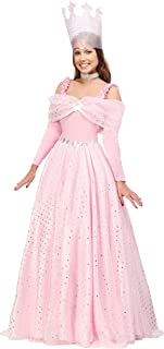 Women's Deluxe Pink Witch Dress Costume Pink Witch Gown for Women