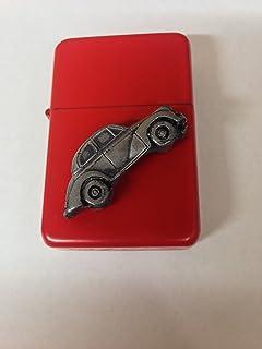 """Morris Minor Series 2 (Split Screen """"Face Lift"""") ref164 3D flip top benzineaansteker winddicht RED navulbaar"""