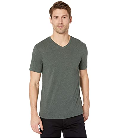 Threads 4 Thought Baseline Tri-Blend V-Neck Tee (Dirty Evergreen) Men