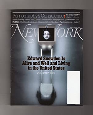 New York Magazine - June 27-July 10, 2016. Edward Snowden & Snowbot; Stoya; Jeff Bezos; Boris Johnson; New York Windows (Unusual Scenes); Kanye West's Mini-Muse, Amina Blue & Other Uncommon Models