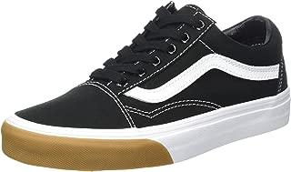 Vans Unisex Adults' Old Skool Canvas Trainers, Black (Gum Bumper/Black/True White), 11 UK 46 EU