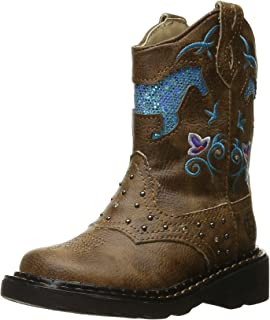 Horse Flowers Western Boot (Toddler/Little Kid)