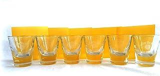Jim Beam Gläser Set – 6 Jim Beam Shot Gläser geeicht 2cl/4cl