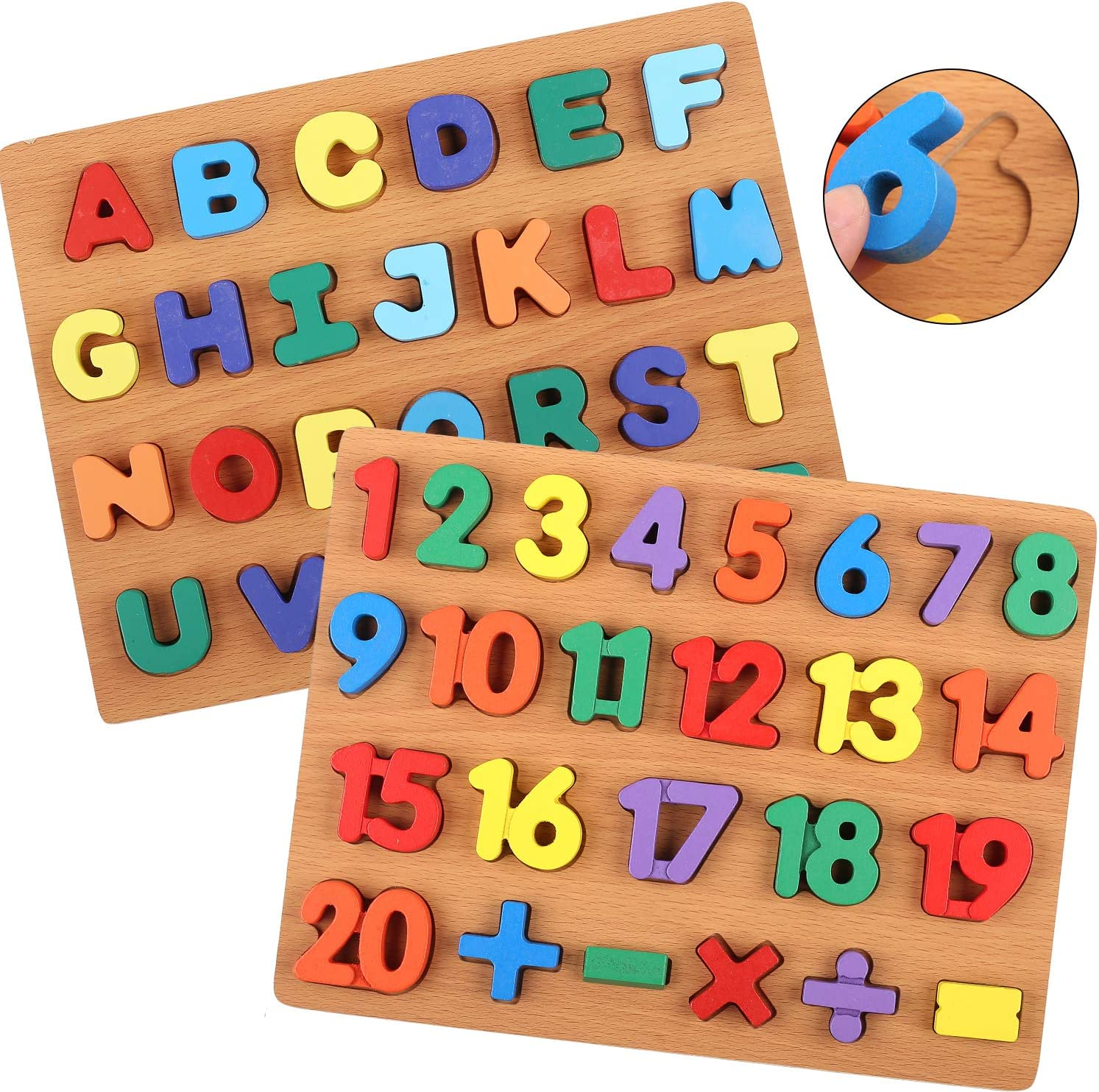 Learning wooden learning cards Josh/&twinkle cheapest on