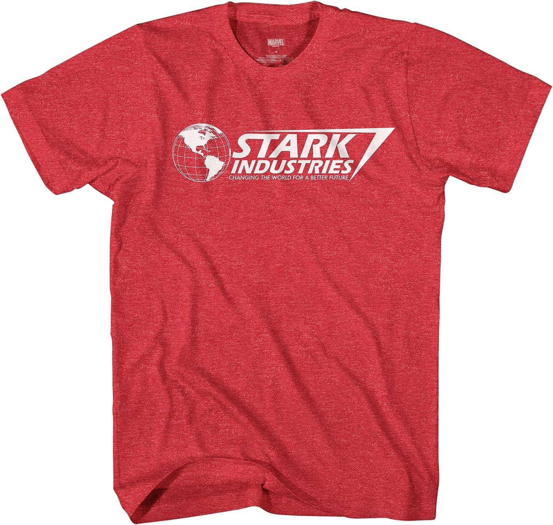 Marvel Iron Man Award-winning store T-Shirt Stark Industries Cheap sale