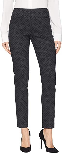 X Marks The Spot Elastic Waist Pull-On Ankle Pants