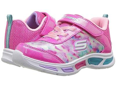 SKECHERS KIDS Litebeams 10921N Lights (Toddler) (Neon Pink/Multi) Girls Shoes