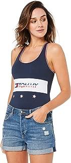 TOMMY HILFIGER Women's Star Racerback Bodysuit