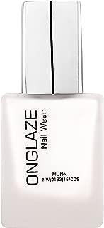 ONGLAZE White Matte Nail Wear