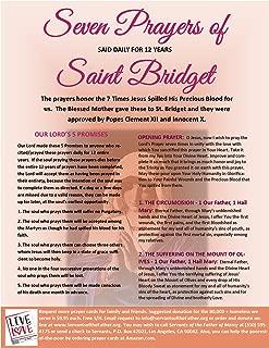 Best st bridget prayer card Reviews