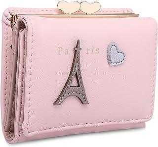 MOCA Pink Leather Women's & Girl's Wallet (MV626A)