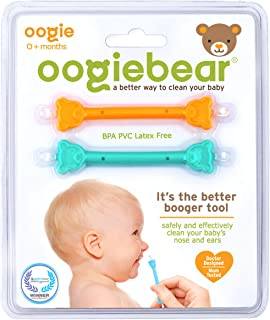 oogiebear – The Safe Baby Nasal Booger and Ear Cleaner – Baby Shower Gift and..