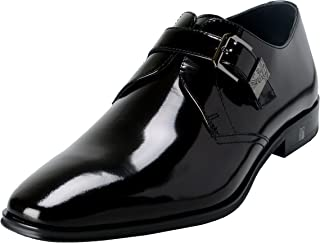 7cb9ebad1e Versace Collection Men's Black Polished Leather Loafers Shoes US 8 IT ...