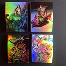 Boris with Julie Complete 90 All HOLOCHROME Refractor Parallel Trading Card Set COMIC IMAGES 1996