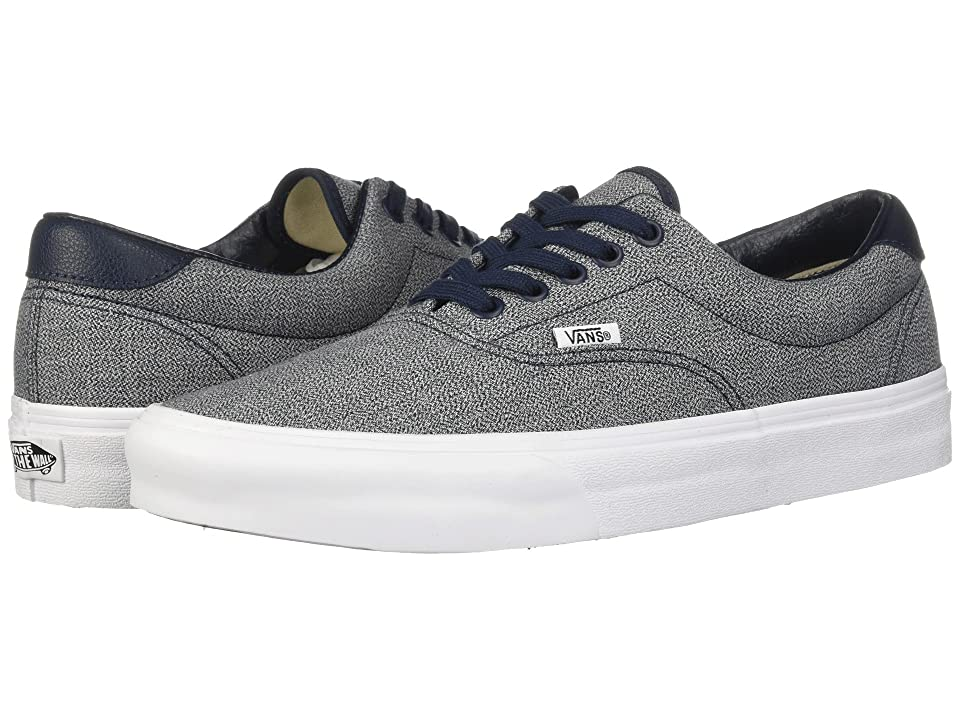 Vans Era 59 ((Suiting) Blueberry/True White) Skate Shoes