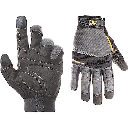 CLC Custom Leathercraft 125L Handyman Flex Grip Work Gloves, Shrink Resistant, Improved Dexterity, Tough, Stretchable, Excellent Grip,Original,Large