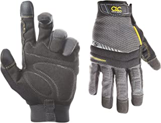CLC Custom Leathercraft 125L Handyman Flex Grip Work Gloves, Shrink Resistant, Improved..
