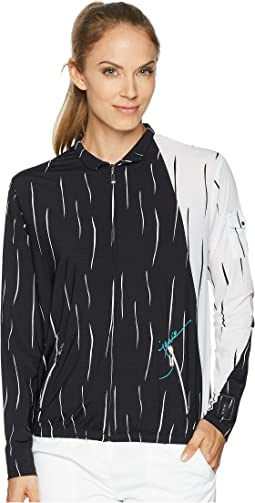 Jamie Sadock Sunsense® Lightweight Rain Drop Print Jacket with 50 SPF