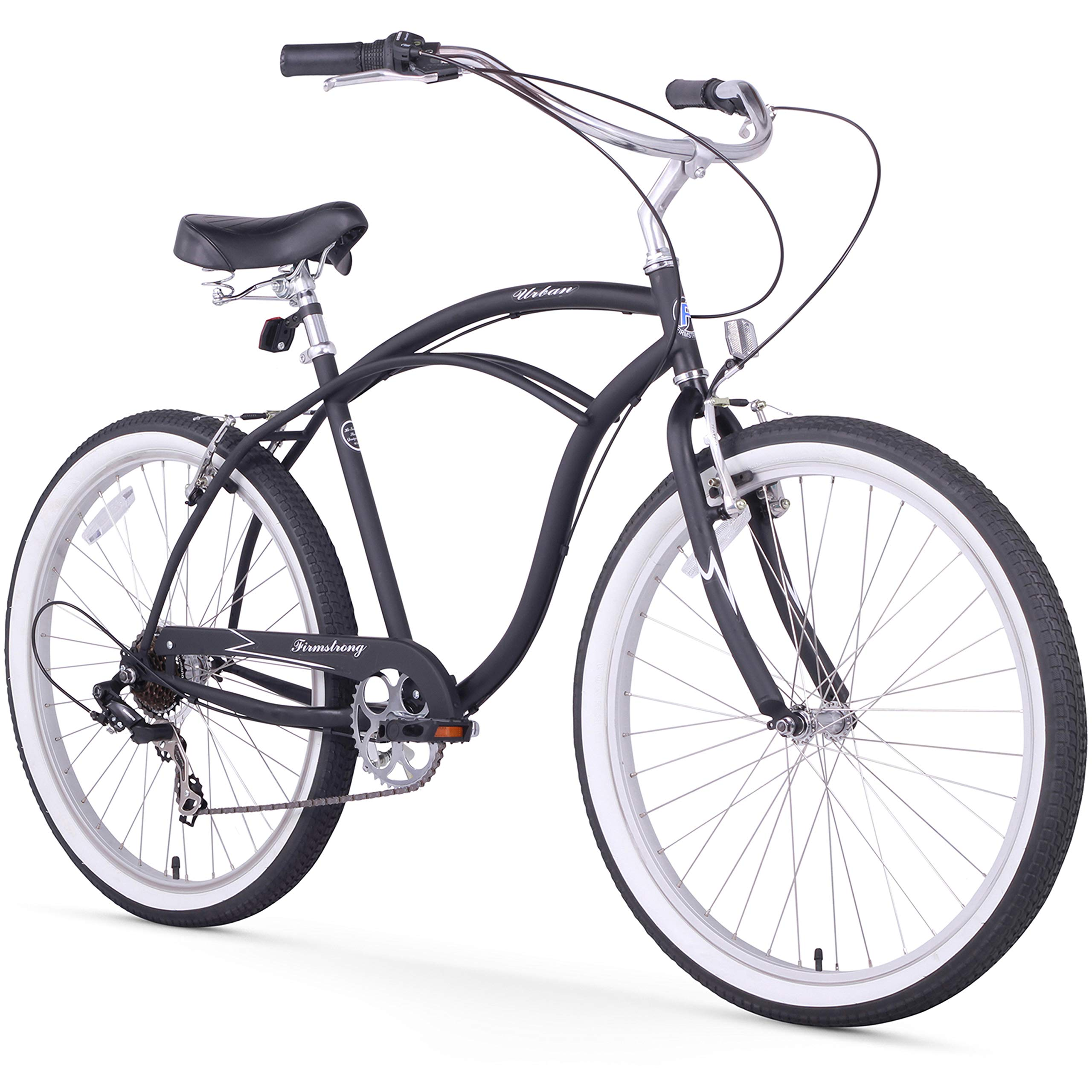 Firmstrong Urban Hombre Beach Cruiser Bicicleta: Amazon.es ...