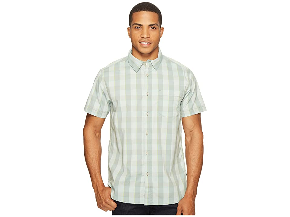 The North Face Short Sleeve Voyager Shirt (Laurel Wreath Green Plaid (Prior Season)) Men