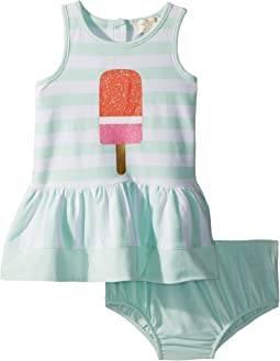 Ice Pop Stripe Dress (Infant)